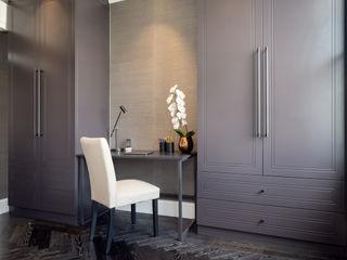 South Kensington Residential Refurbishment SWM Interiors & Sourcing Ltd Camera da letto moderna Legno Marrone