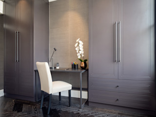 South Kensington Residential Refurbishment SWM Interiors & Sourcing Ltd Habitaciones modernas Madera Marrón