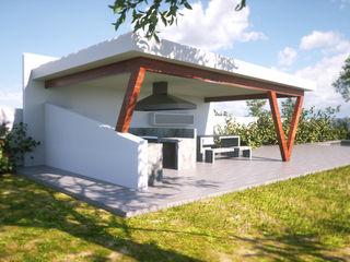 IMAGINA REALIDAD LTDA. Varandas, marquises e terraços modernos