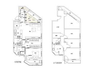 Hi+Design/Interior.Architecture. 寰邑空間設計 Гостиные в эклектичном стиле
