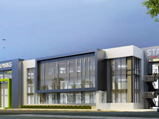SA Architects and Partners Modern office buildings