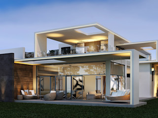 SA Architects and Partners Villas White