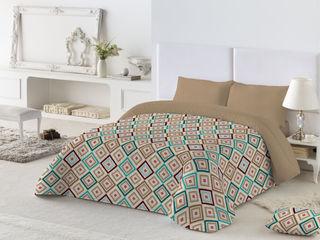 Edredones microfibra Navarro valera cortinas y hogar Dormitorios de estilo mediterráneo