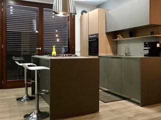 """Progetto architettonico e interior design casa """" Thai"""" Abita design srl / Paolo Vindigni Cucina moderna"""