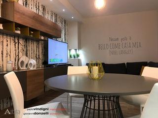 """Progetto architettonico e interior design casa """" Thai"""" Abita design srl / Paolo Vindigni Soggiorno moderno"""