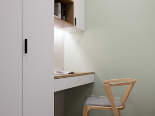 極簡室內設計 Simple Design Studio Dormitorios de estilo minimalista