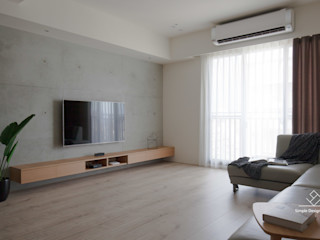 極簡室內設計 Simple Design Studio Livings de estilo escandinavo