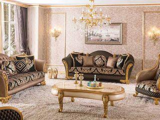 LUXURY LINE FURNITURE Living roomSofas & armchairs Wood Brown