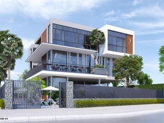 Mẫu Thiết kế biệt thự kết hợp kinh doanh NEOHouse