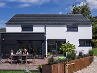 KitzlingerHaus GmbH & Co. KG منزل عائلي صغير خشب معالج White