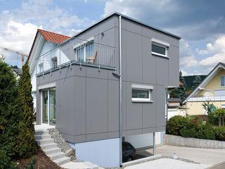 KitzlingerHaus GmbH & Co. KG منزل جاهز للتركيب خشب معالج Grey