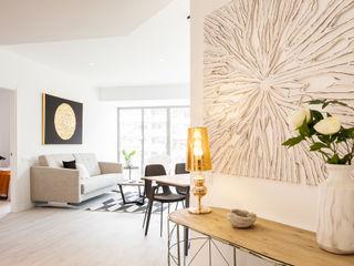 Markham Stagers Koridor & Tangga Modern White