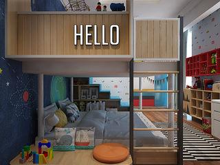 Kids Bedroom EIGHT IDEA Kamar Bayi/Anak Gaya Skandinavia
