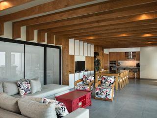 LGZ Taller de arquitectura Ruang Keluarga Modern