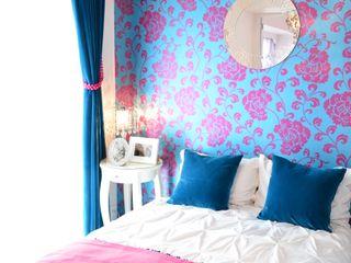 interior design Strasse Nowoczesna sypialnia