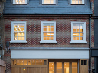 8 Harley Place Sonnemann Toon Architects Country style doors