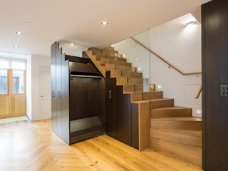 8 Harley Place Sonnemann Toon Architects Country style corridor, hallway& stairs