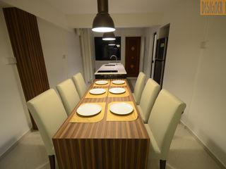 Designer House Kitchen units Plywood Beige