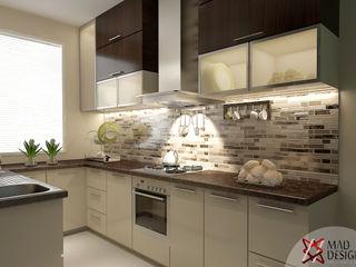 KITCHEN VIEW homify Modern Kitchen White