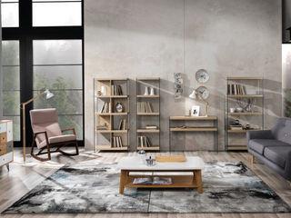 MD WORK SRL 现代客厅設計點子、靈感 & 圖片 木頭 Beige