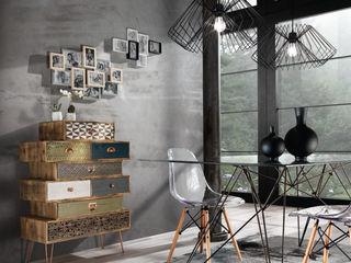 MD WORK SRL 现代客厅設計點子、靈感 & 圖片 複合木地板