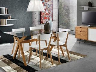 MD WORK SRL 客廳邊桌與托盤 複合木地板 Wood effect