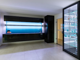 Glascouture by Schenk Glasdesign Office buildings Glass Turquoise