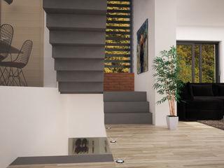 LAB16 architettura&design Modern corridor, hallway & stairs