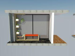 Heritage Design Group Balconies, verandas & terraces Furniture