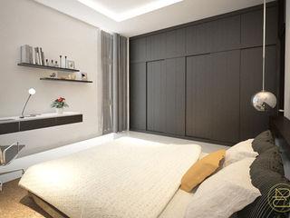 Arci Design Studio Modern Bedroom