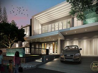 BGV House Arci Design Studio Rumah Modern