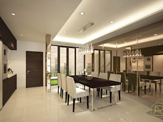 SL House Arci Design Studio Ruang Makan Modern