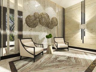 Teratai House Arci Design Studio Koridor & Tangga Modern