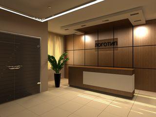 AM Design Minimalistische Bürogebäude