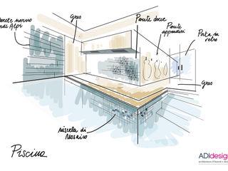 ACQUA E PIETRA | SPA FITNESS & WELLNESS ADIdesign* studio Piscina a sfioro