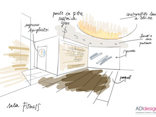 ACQUA E PIETRA | SPA FITNESS & WELLNESS ADIdesign* studio Sauna