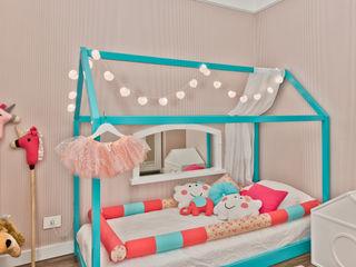 Ana Crivellaro Girls Bedroom Wood Multicolored
