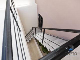 PORTO Arquitectura + Diseño de Interiores Koridor & Tangga Minimalis