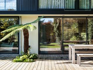 Boyle Farm Concept Eight Architects Glass doors