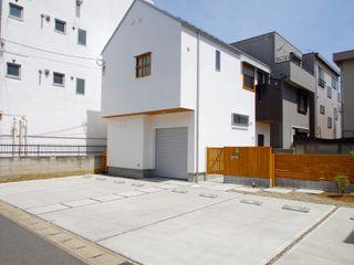 柏ボックス K+Yアトリエ一級建築士事務所 木造住宅 無垢材 白色