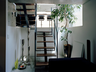 M+2 Architects & Associates Nowoczesny salon