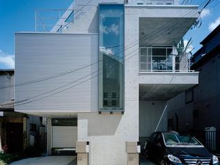 M+2 Architects & Associates Nowoczesne domy
