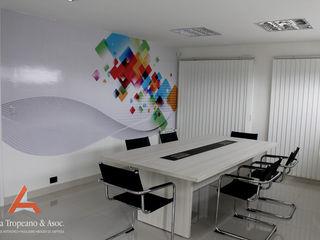 Aida tropeano& Asociados Ofis Alanları & Mağazalar İşlenmiş Ahşap Rengarenk