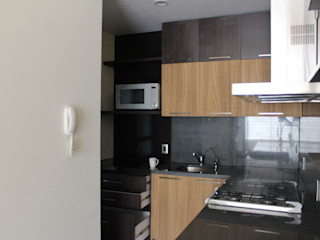TP618 Kitchen units Solid Wood Black