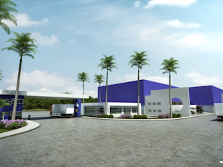 Arquitetura Sônia Beltrão & associados Industriale Bürogebäude Eisen/Stahl Weiß
