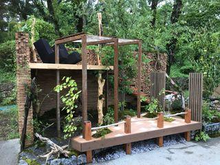 株式会社 髙橋造園土木 Takahashi Landscape Construction.Co.,Ltd Палісадник Дерево Дерев'яні