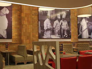 Cristina Langer Arquitetura Comercial & Interiores Moderne Gastronomie