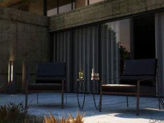 V Arquitectura Moderner Balkon, Veranda & Terrasse Beton Grau