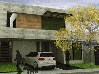 Arquimia Arquitectos Detached home Concrete Grey