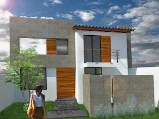 Arquimia Arquitectos Detached home Wood Wood effect